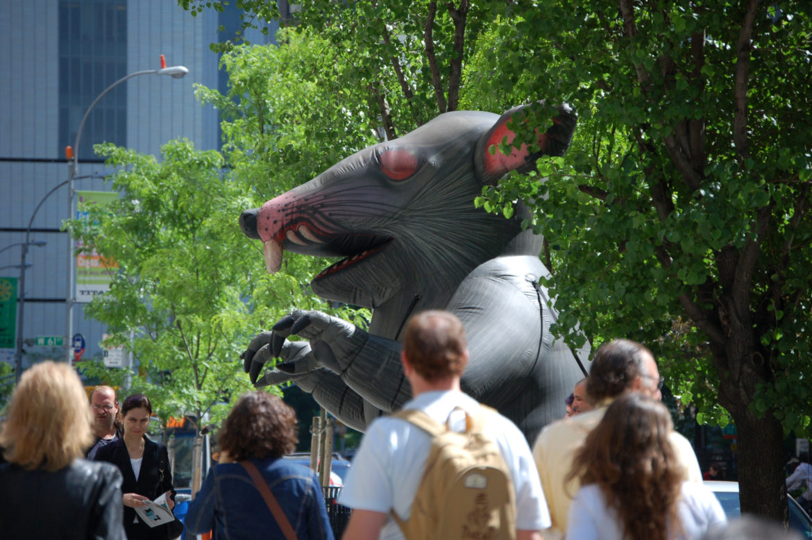 The giant inflatable rats favored by unions are a visible sign of their presence. Less apparent has been an increase in the share of the city workforce that belongs to a union.