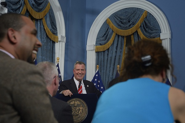 Mayor de Blasio appointed a long-time critic of the city's welfare policies to head HRA.