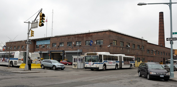 This bus depot, which is set for expansion, sits atop an old burial ground.