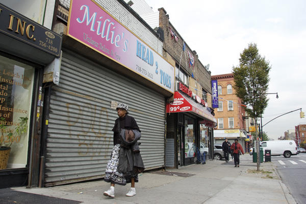 The storefront at 658 Nostrand Avenue in Crown Heights is slated to become a pub, but investor Mitch Polo says that the community board's attempts to reduce hours threaten his ability to operate.