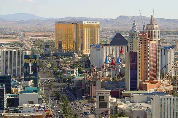 A fifth of homeowners in the Las Vegas area are seriously at risk of defaulting on their mortgages.