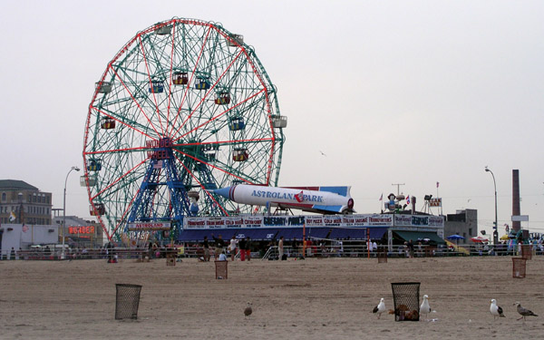 The Coney Island beachfront could soon look very different from its Astroland heyday.