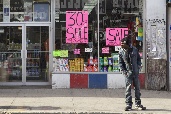 The commercial district around the Fulton-Nostrand intersection features several discount stores that, some locals say, limit the area's potential. But would swankier shops serve local residents, let alone employ them?