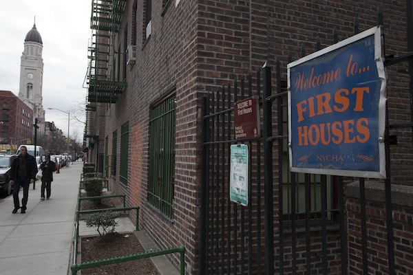 First Houses, on the Lower East Side, is where public housing began in the United States. New York is the only city to create its own public housing, and New York is one of only four states to have its own public housing program, on top of the federal one.