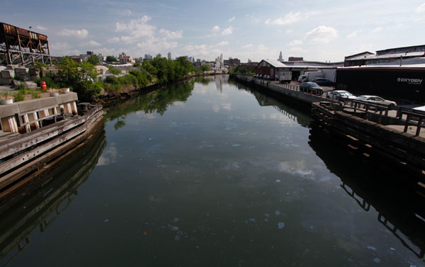 The Canal was created in the 1860s to bring raw material to rapidly developing residential Brooklyn.