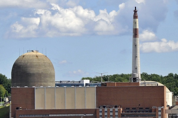 The Indian Point nuclear plant on the Hudson just a few miles north of the city. The ghosts of Three-Mile Island, Chernobyl and Fukushima make many nervous about the facility.