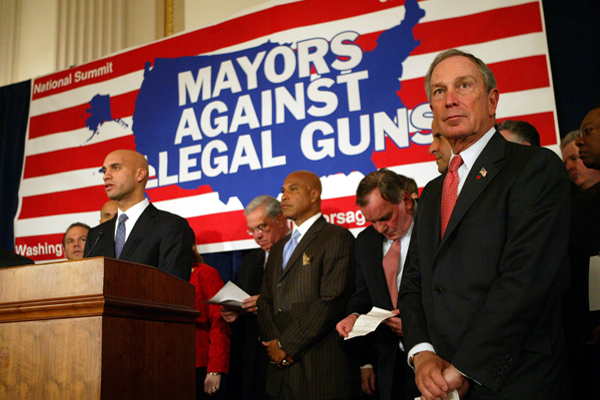 Mayor Bloomberg's role as the force behind Mayors Against Illegal Guns makes him an enemy of the gun lobby, which also scorns New York City's gun laws.