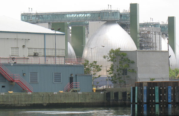 The Newtown Creek Water Pollution Control Plant. The 1989 charter revision created a mechanism for communities to resist being the site of disproportionate numbers of sewage plants, waste stations and other problematic facilities. But a loophole has allowed that process to be bypassed. Community advocates want the charter revised to fix the flaw.