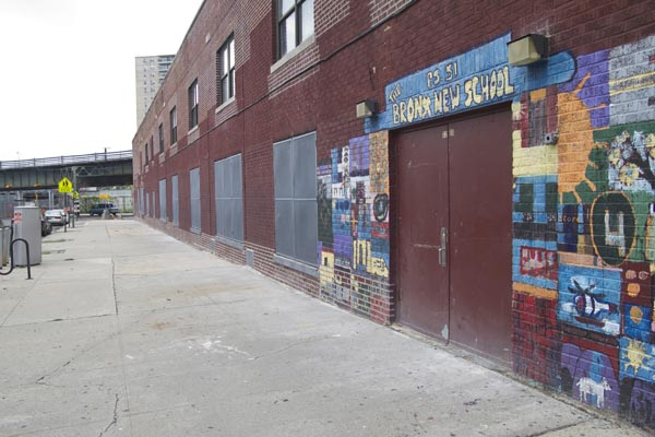 P.S. 51 was closed this summer after DOE tests detected levels of  trichloroethylene nearly 10,000 times above the safe level in the soil vapor below the first floor cafeteria. All P.S. 51's children were transferred to a Catholic school three miles away in Crotona.