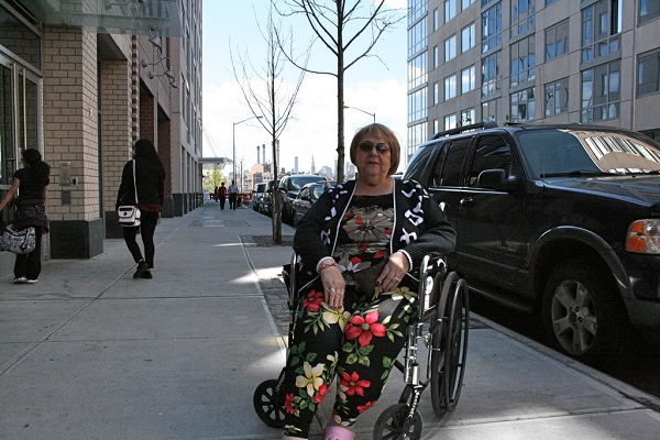 Helen Pagano, 67, landed a one-bedroom in the Edge Community Apartments in Williamsburg, where she pays $165 per month after applying a Section 8 voucher.