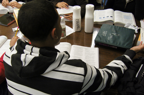 A student at a GED program in the central Bronx. As returns to education have magnified, so have the differences in performance among students up and down the income ladder.
