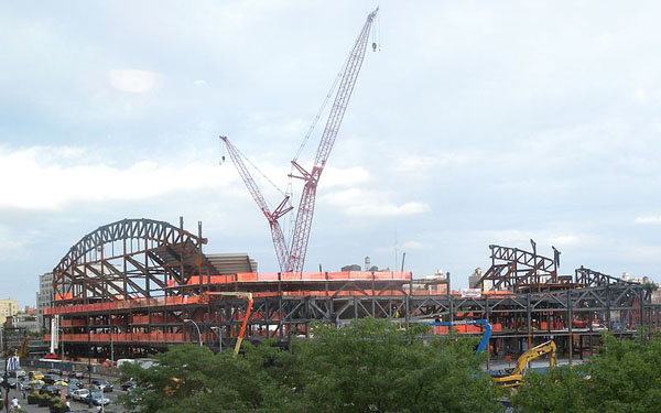 Critics of the Atlantic Yards project have long questioned the developer's promises of jobs and housing.