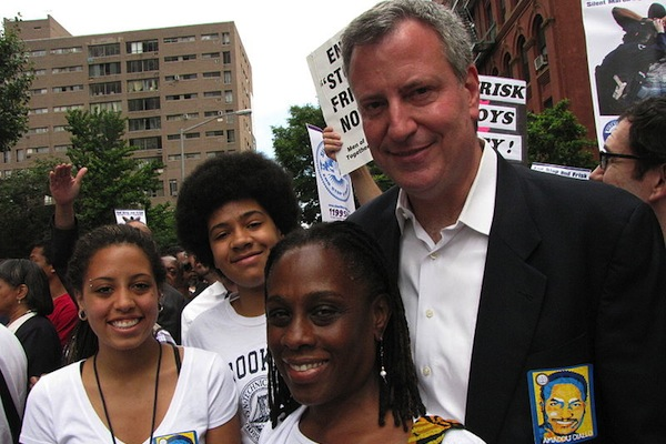 Bill de Blasio, whose biracial family played a prominent role in his campaign (which ended with him securing solid margins across racial, ethnic and other demographic lines), has made relatively few appointments. Most have been white. Most have also been women.
