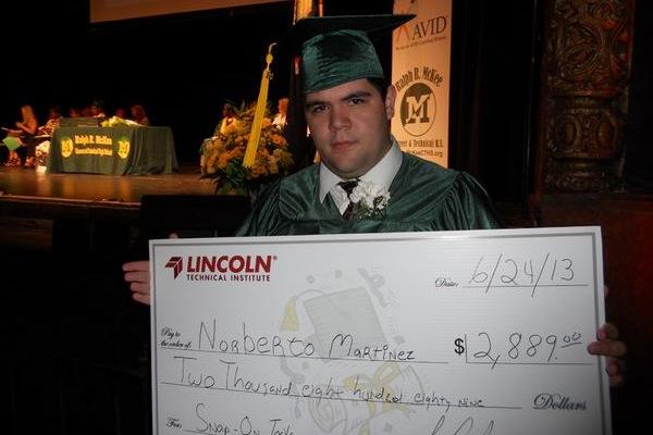 McKee High School graduate Norberto