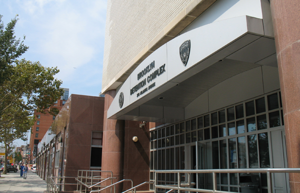 The Brooklyn Detention Complex on Atlantic Avenue houses up to 759 people. In Sunset Park, the federal Brooklyn MDC holds nearly 2,500 detainees.