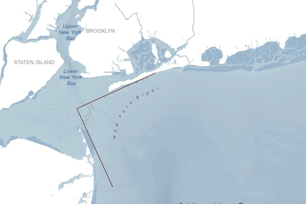 Big Bight, Big City: The unique curvature of the metropolitan region's coastlne is one reason why New York is considered especially vulnerable to hurricanes.