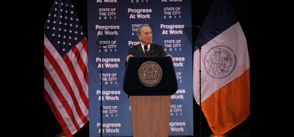Mayor Bloomberg delivers his State of the City address.