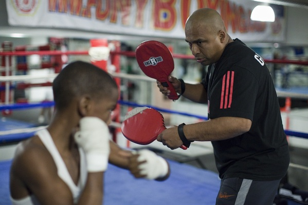 The Atlas Cops & Kids Boxing Club in East Flatbush is one of a very few surviving youth boxing programs in the city.