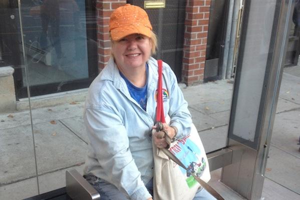 Kathanna Knapp, who grew up in the neighborhood, says,