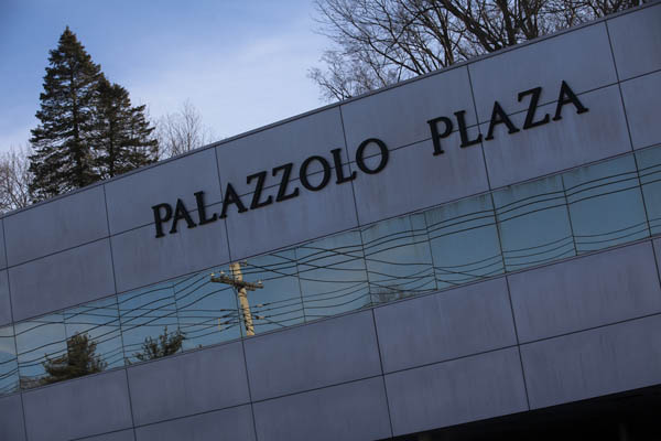 Palazzolo Plaza, the Scarsdale office building that has been home to several dozen corporations controlling, at one point, more than 100 buildings in the Bronx—many of them with severe maintenance and safety problems.