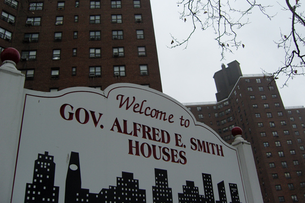 More than 400,000 people live in NYCHA's 340-odd developments.