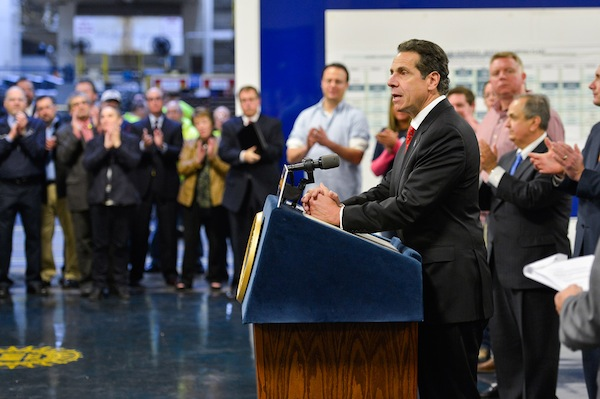 Gov. Andrew Cuomo set a blanket 20 percent goal for all minority- and women-owned businesses in 2011. In fiscal year 2010-2011, M/WBE participation was at 10.3 percent, according to the state's annual report on its program.