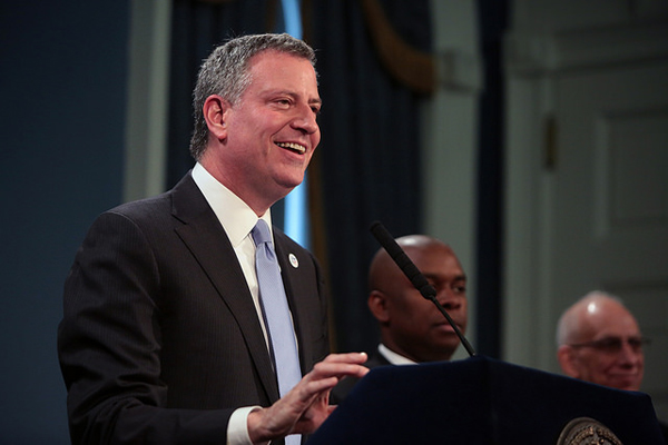 Mayor De Blasio has had triumph and tumult in his first 100 days in office, from the victory on UPK to the controversy over charter schools.