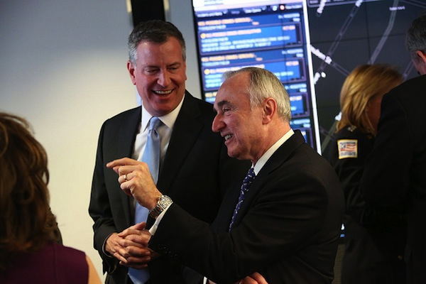 Mayor de Blasio and Commissioner Bratton have implemented changes to the NYPD, but the number of low-level arrests so far is on par with what Mayor Bloomberg and then-Commissioner Ray Kelly oversaw in 2013.