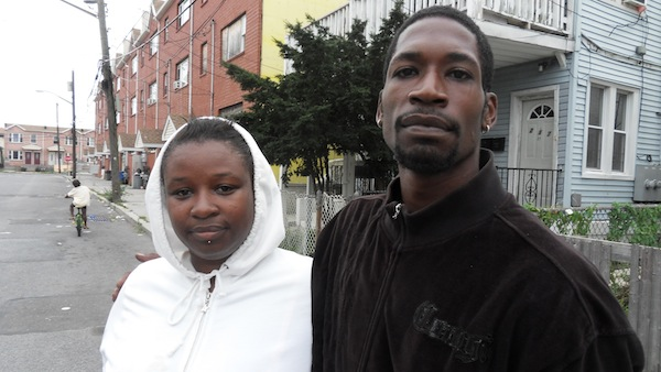 Regina Day and Mike Porter said this morning that they planned to stay in Rockaway.