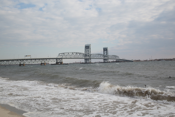One section of the proposed pipeline would run parallel to the Gil Hodges Memorial Bridge to Floyd Bennett Field.