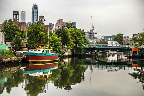 Along the Gowanus, which has been recognized as a health nuisance since the 1800s.