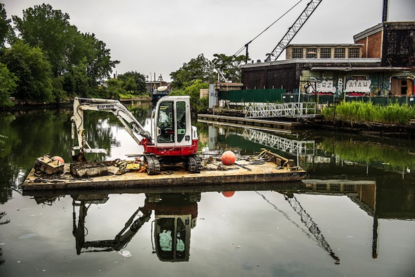 There were fears when the Gowanus Canal was declared a Superfund site that the label would deter development. Evidence suggests the designation has not been a factor in the neighborhood's evolution.