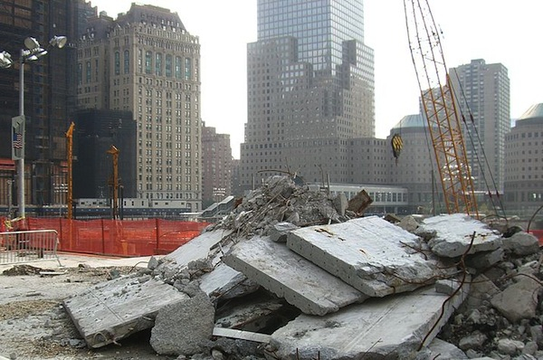 Ground Zero. A report finds that the urge to return to an appearance of normalcy after September 11 was one of the reasons important health precautions weren't taken.