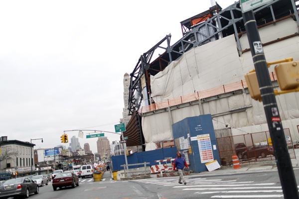 The Barclay's Arena takes shape. Now that the first stage of Atlantic Yards is set to arrive, what will Brooklyn get for its near-decade of discord?