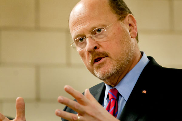 Republican frontrunner and former MTA chairman Joe Lhota has said he believes the best thing government can do for the economy is to get out of the private sector's way.