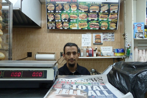 Mohamed Mohamed runs Gold Star Deli Grocery with his father Mohamed and another employee, also named Mohamed, all of them from Yemen. This unique situation arises from Arabic nomenclature.