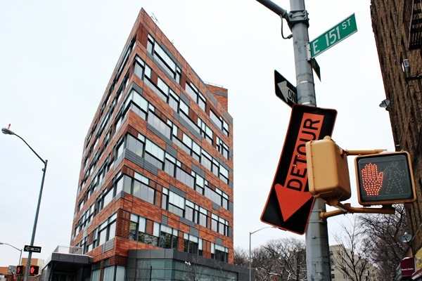 The PATH building in the south Bronx, where families go to apply for shelter. The Bloomberg administration built it to replace the Emergency Assistance Unit, which became a symbol of dysfunctional homeless policy during the Giuliani years.