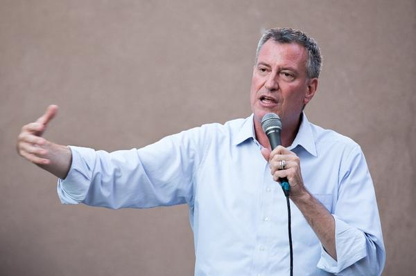 Bill de Blasio received the most campaign money from Brooklyn donors, topping five other citywide candidates (Sal Albanese, Letitia James, Daniel Squadron, Bill Thompson and Anthony Weiner) with Brooklyn homes or roots.