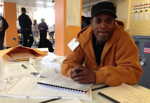 Poll worker Anthony Cooke maintains a Republican voter registration chiefly to facilitate getting work on election days. But he also always votes, because people died for that right.
