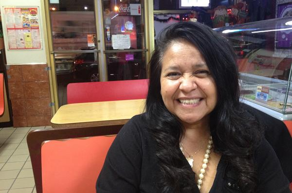 Irene Estrada on the eve of her defeat in the race for public advocate. She thought there was a chance she could win. She fell 767,000 votes short.