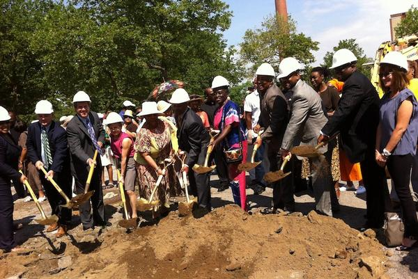 Developers, elected officials and local clergy and community advocates break ground on the new senior housing—80 units of progress toward filling a much larger gap between the housing needs of the aged and the housing supply they encounter.