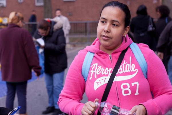Angela Torres who lives in Red Hook Houses with her husband and their three children, says the storm fused a deeper unity among neighbors that continues a year later.