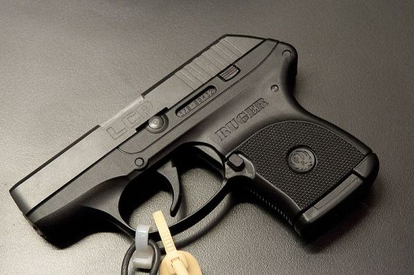 A Ruger LCP pistol. Like many public pension funds, New York City's retirement accounts own stock in Sturm, Ruger.