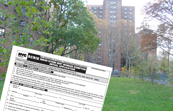 Bill de Blasio's plan for senior housing emphasizes the SCRIE program. Joe Lhota backs a plan that would create 6,000 new units of senior housing, and use some of them to house seniors who vacate apartments at NYCHA complexes like the Robert Wagner Houses in East Harlem.