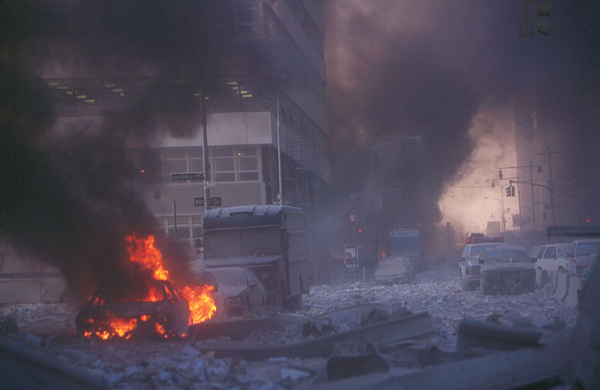 The city's 911 system was overwhelmed on the day of the terrorist attacks.