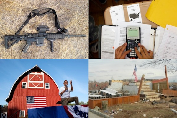 Gun violence, school performance, the 2012 campaign and Hurricane Sandy made our list of the big-impact stories from the past year.