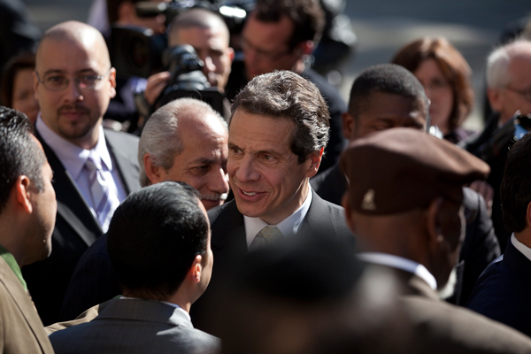 "Candidate Cuomo unveiled his ""urban agenda"" at City Hall 10 days before the election. But like the campaign in general, the agenda avoided specifics."