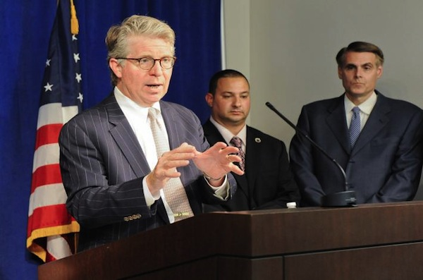 Manhattan District Attorney Cyrus Vance's office last January announced it had reached a $10 million deferred prosecution settlement with Siemens Electrical LLC for the company's submitting false paperwork to overstate the amount of work done by M/WBEs on city jobs including the Wards Island Pollution Control Plant and the Croton Plant.