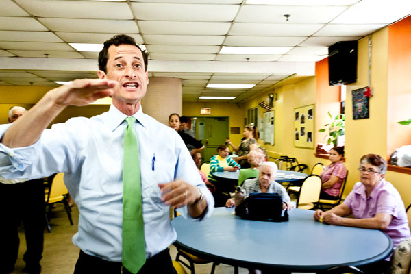 Former Congressman Anthony Weiner says NYCHA could save money by using so-called performance contracting.