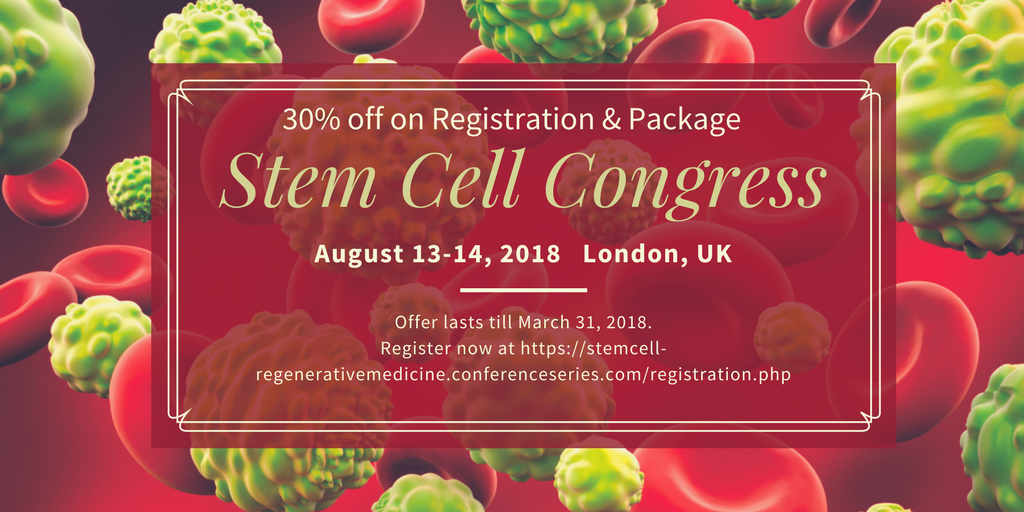 10th Annual Conference on Stem Cell and Regenerative Medicine : City Limits